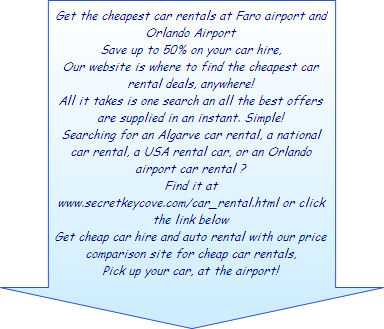 The Cheapest Car hire in the Algarve and In Orlando